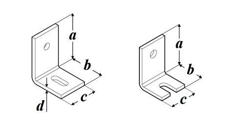 Уголок для бетона LB чертеж